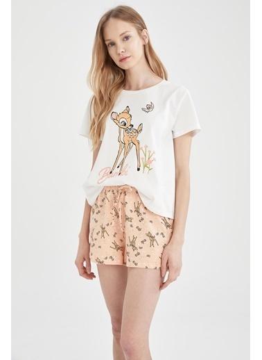 DeFacto Walt Disney Company Lisanslı Pijama Takımı Pembe